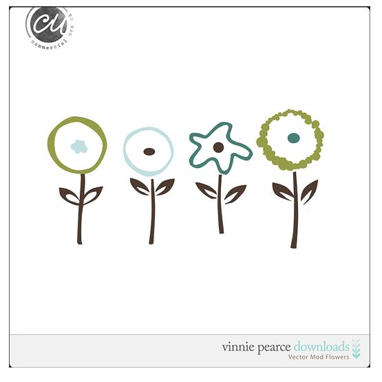Mod-flowers